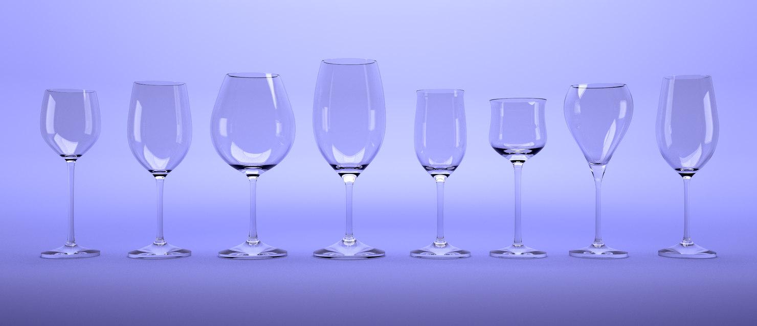 winecups blender 3D