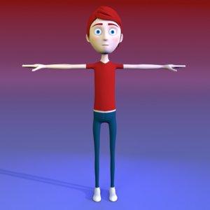 character 2018 rig 3D model