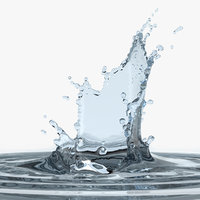 water splash 3D model