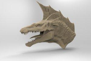 3D godzilla monster