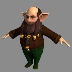 elf hobbit model