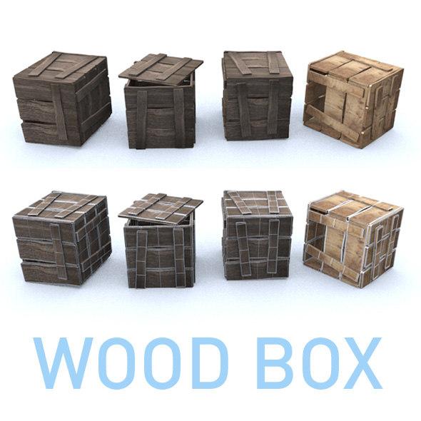 wood box model
