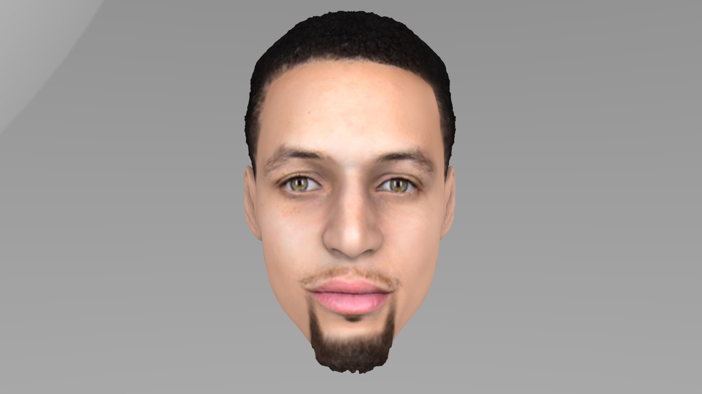 3D stephen curry model