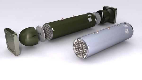 lau-61 lau-130 rockert launchers model
