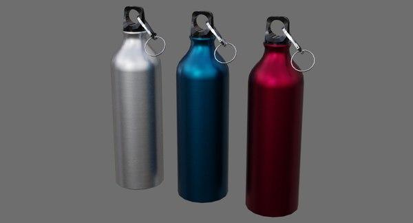 water bottle 1a 3D model