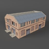 warehouse building games 3D model