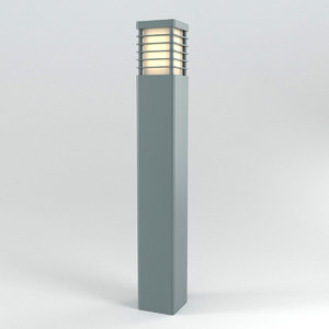 3D model halmstad outdoor luminaire