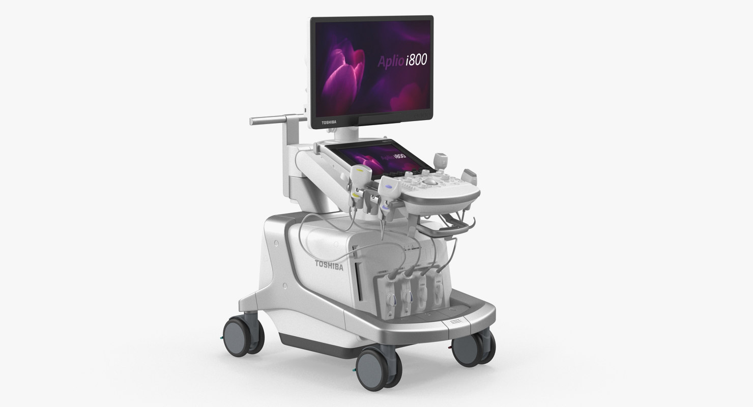 toshiba aplio i800 ultrasound 3D model