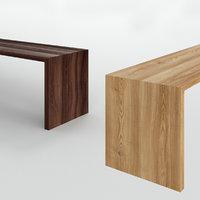 3D bensen radii bench model