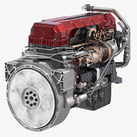 Turbo Diesel Truck Engine Generic