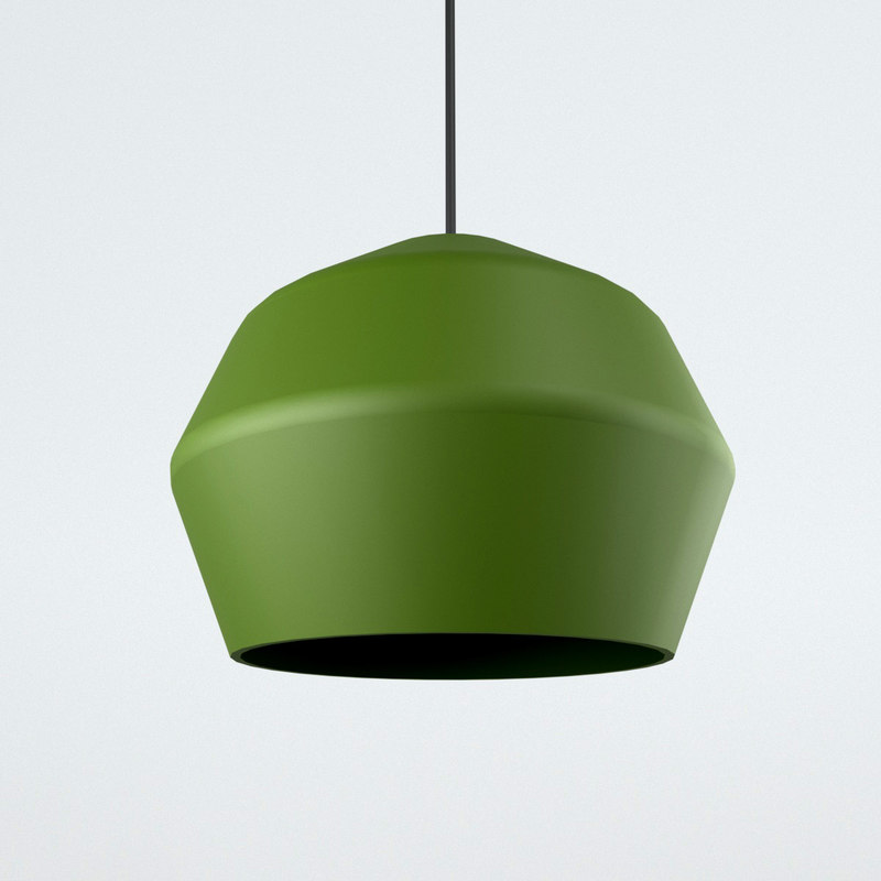 3D model edge pendant lamp