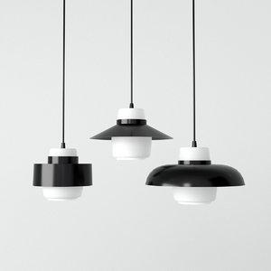 lento pendant lights 3D