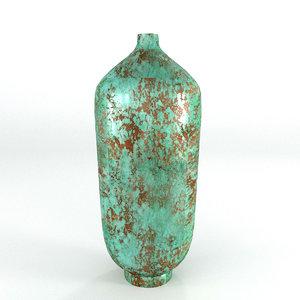 norr11 teal vase 3D model