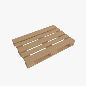 wooden pallet wood model