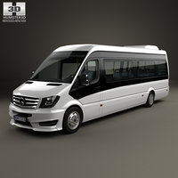 mercedes-benz sprinter bus 3D model