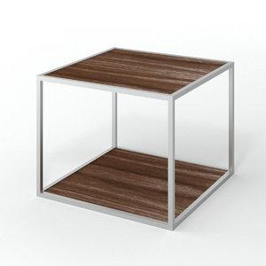3D pitagora square coffee table model
