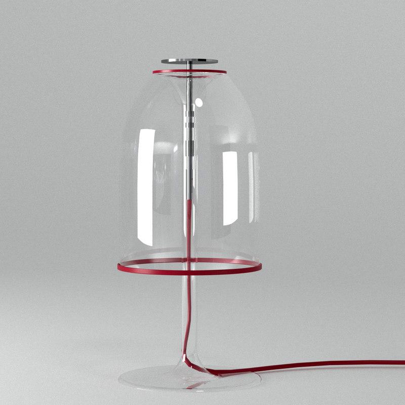 cattelan medusa table lamp model