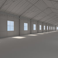 3D warehouse model