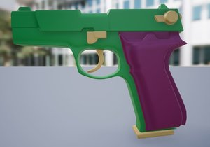 3D model p88