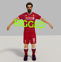 mohamed salah 3D model