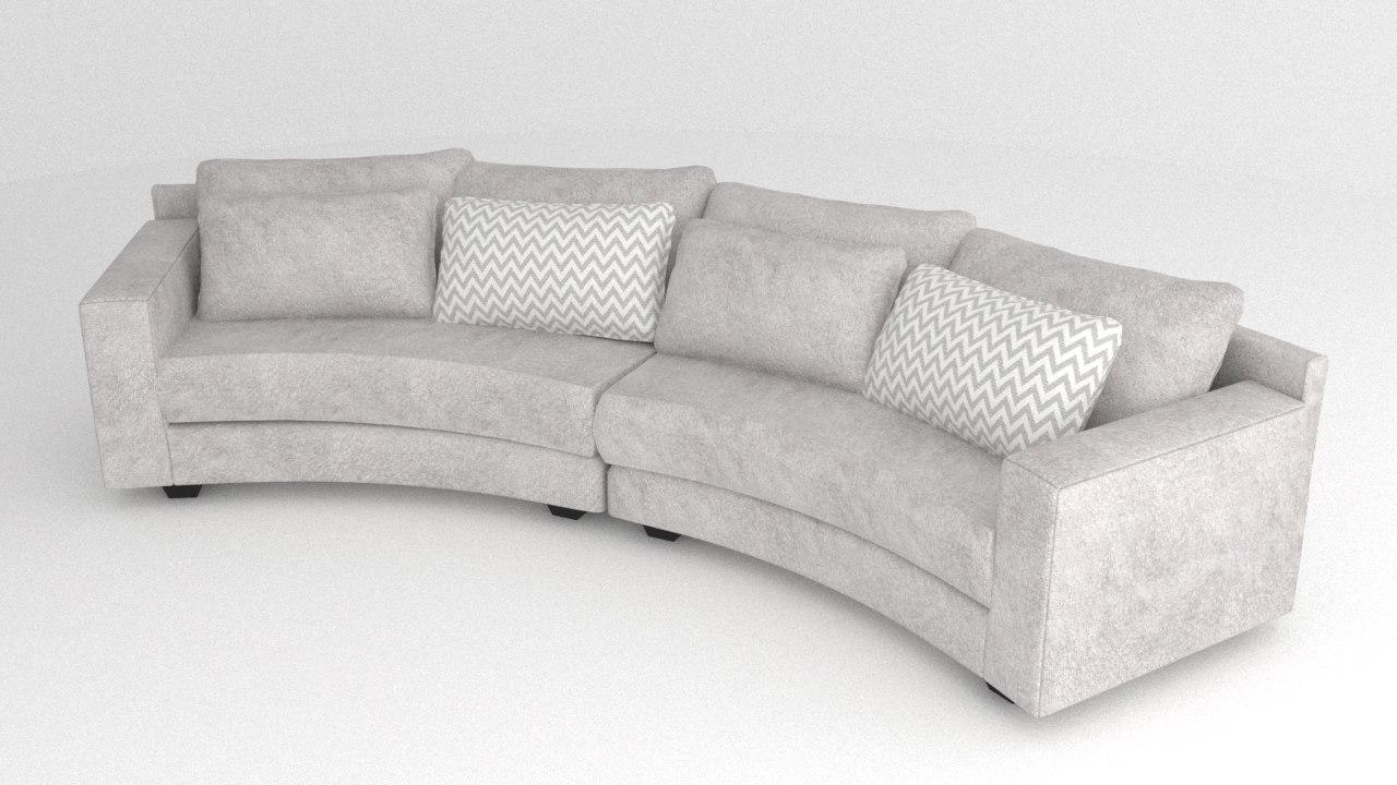 3D sofa arc