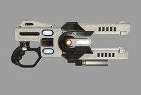 science fiction plasma gun model