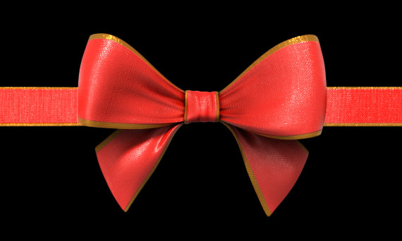 3D gift ribbon