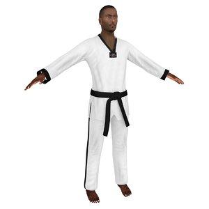 3D taekwondo 4
