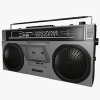 3D sanyo m9923l l006 radio