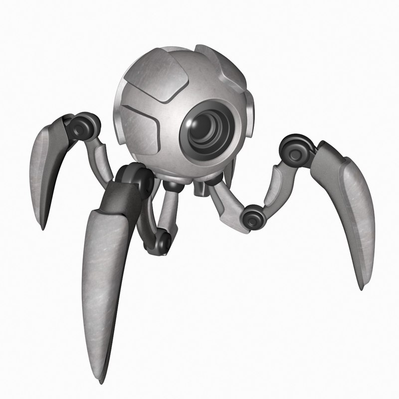 robot spy 3D model
