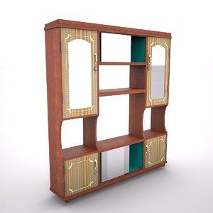 cupboard cabinet 3D model