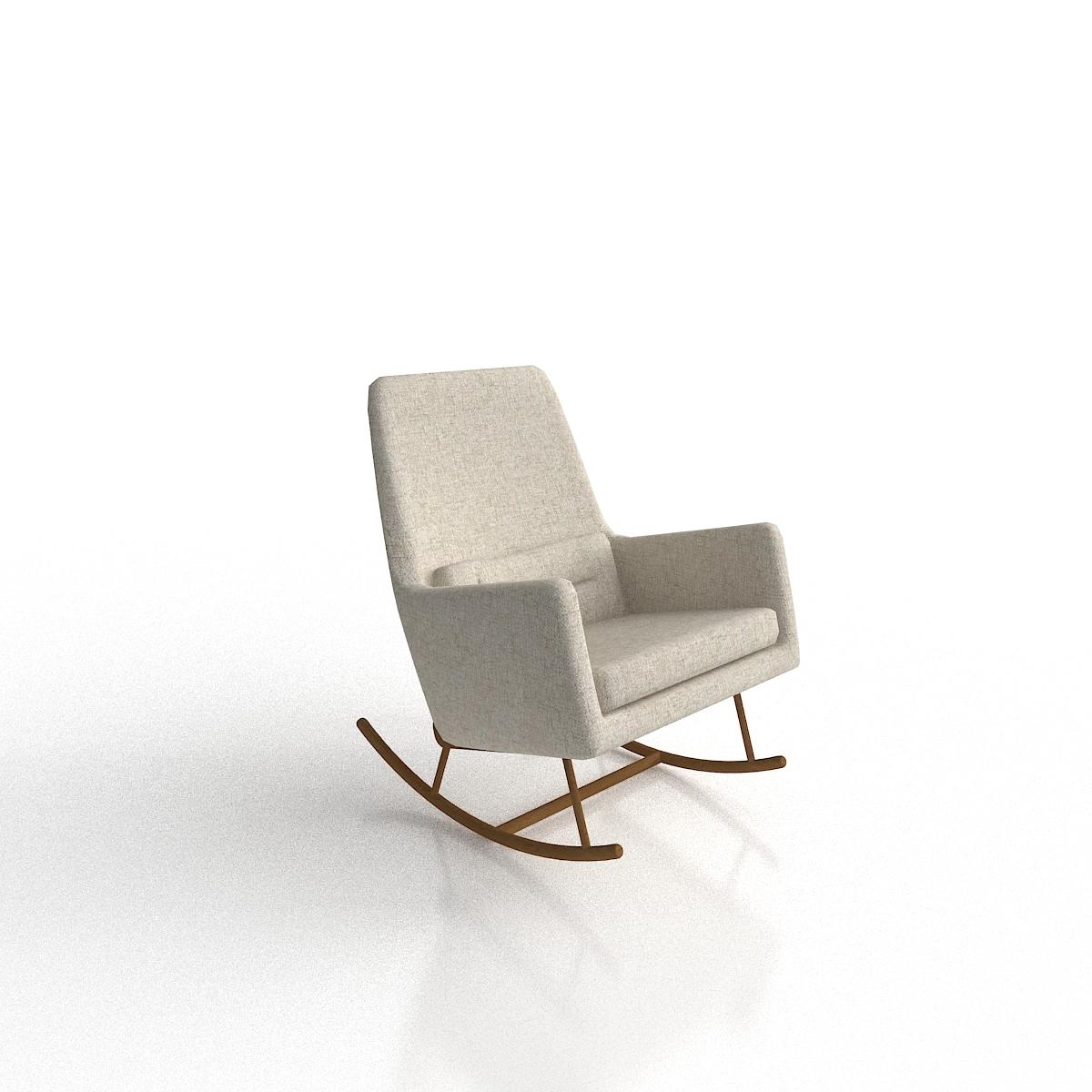 Awesome Cb2 Saic Quantam Rocking Chair Pdpeps Interior Chair Design Pdpepsorg