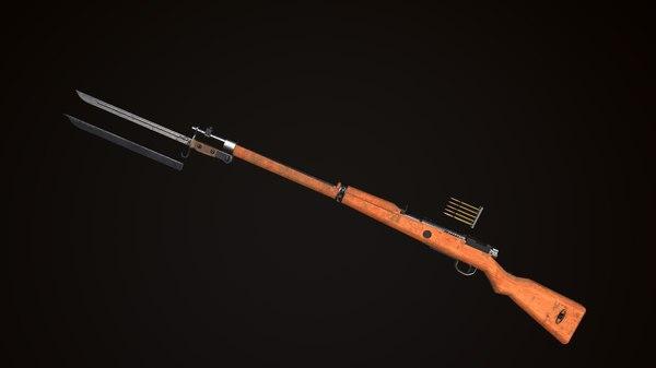 arisaka type 99 ditch 3D model