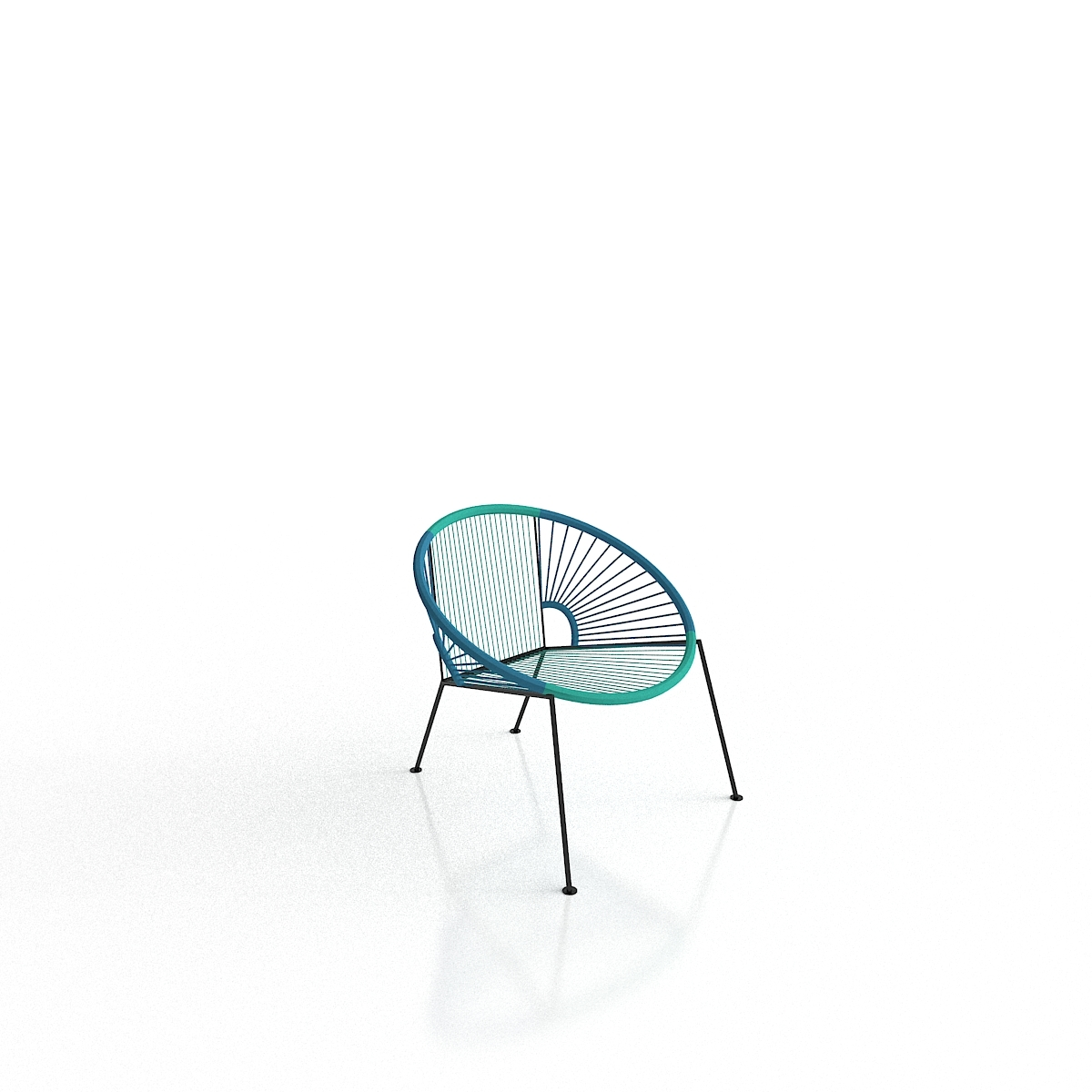 Excellent Cb2 Ixtapa Blue Outdoor Lounge Chair Pdpeps Interior Chair Design Pdpepsorg