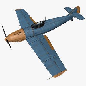 messerschmitt bf 109 e 3D model