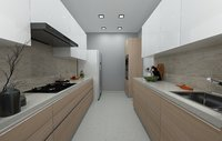 3D nolte kitchen model