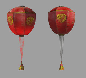 3D balloon pbr emissive