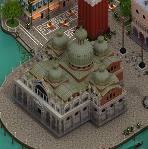 3D model s mark basilica st