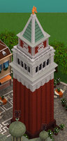3D bell s marco campanile model