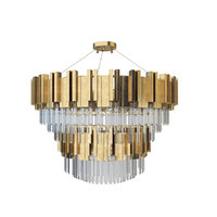 zhongshan laiting big chandeliers 3D model
