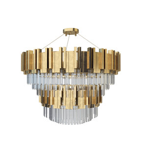 zhongshan laiting big chandeliers 3D model
