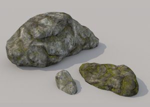 3D stone pbr