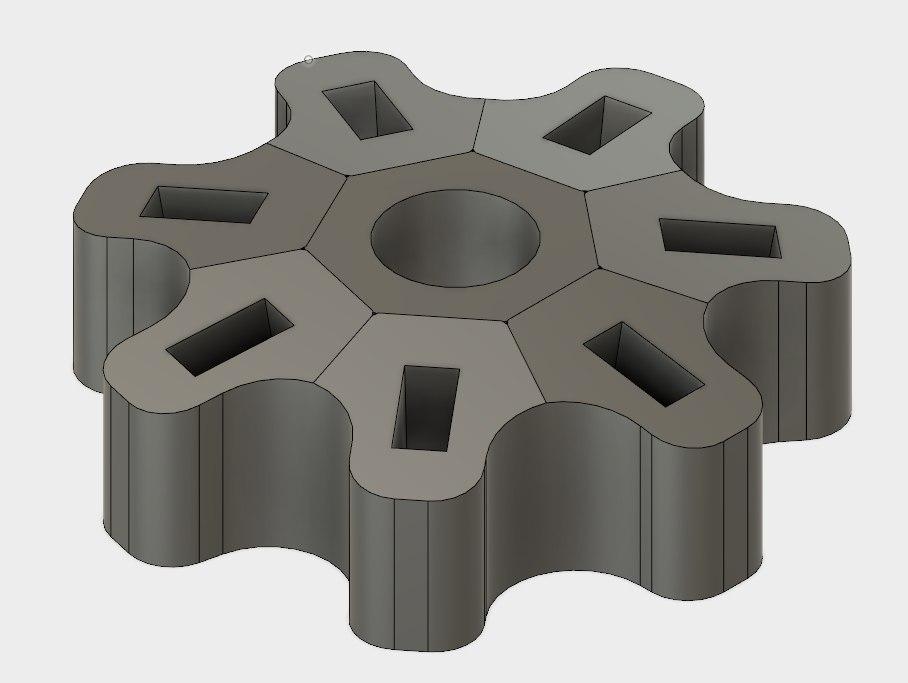 holder usb key 3D model