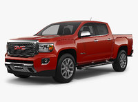 gmc canyon denali 2018 3D