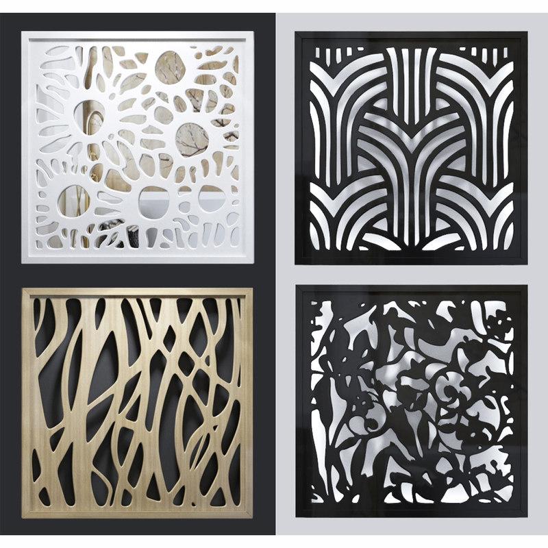 lattice decorative 3D