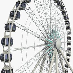 3D sky wheel