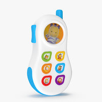 toy phone smoby cotoons 3D
