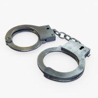 handcuff cuff 3D model