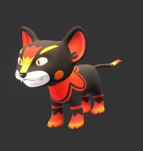 lion cub 3D