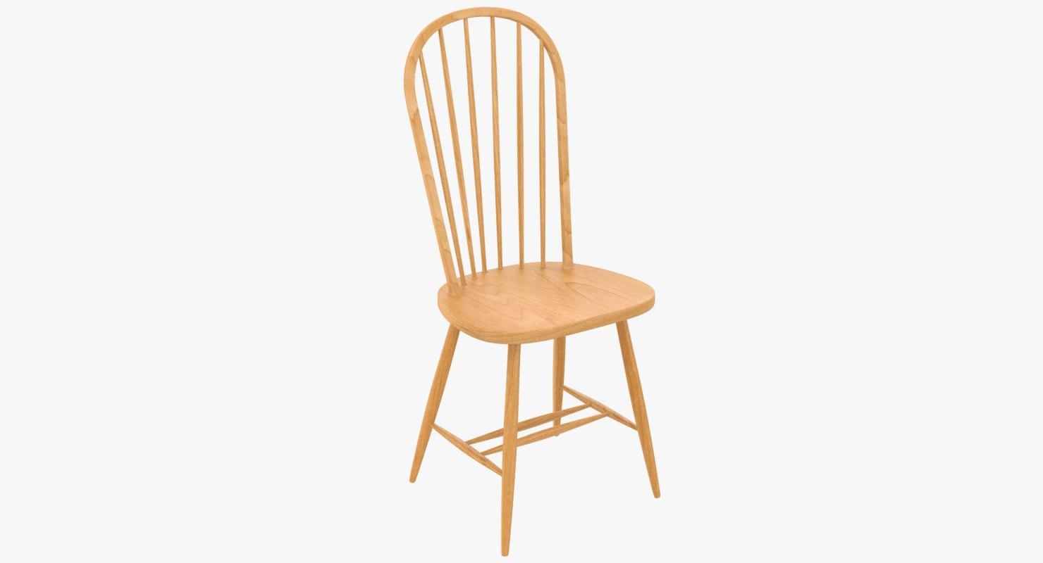 3D photorealistic chair